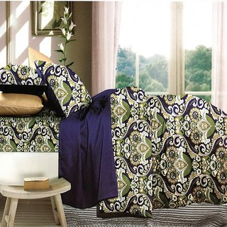 Kashish Printed Bedsheet With 2 Pillow Cover