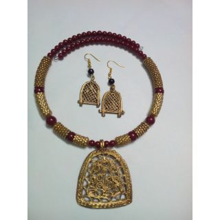 Dokra ethnic collection Pendent sets (DSC5)