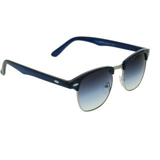 Vast  Unisex Blue Non-Metal Stylish Sunglass CMBLUEBLUESILVER