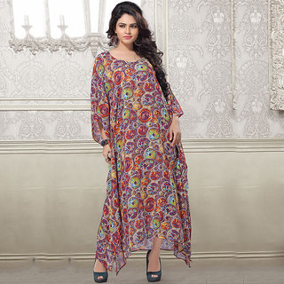 Compelling And Lustrous And Latest Floor Length Kaftan