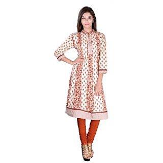Factorywala Designer  Colorful Regular wear Printed Kurti For womens