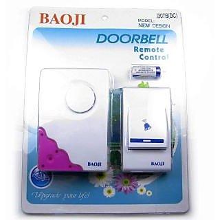 DOOR BELL -Cordless Bell, Wireless Remote Control Door Bell