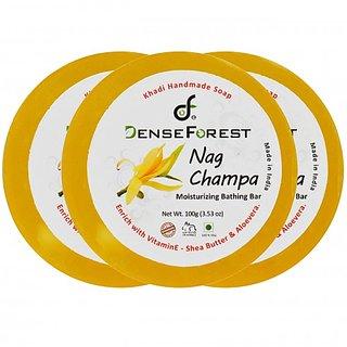 Nag Champa Khadi Soap (Pack of 3)