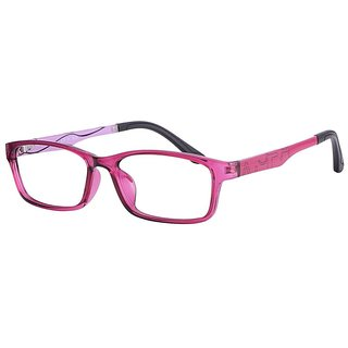 Buy Comfortsight Pink Polycarbonate Eye Glass Frame For Women Cs8311