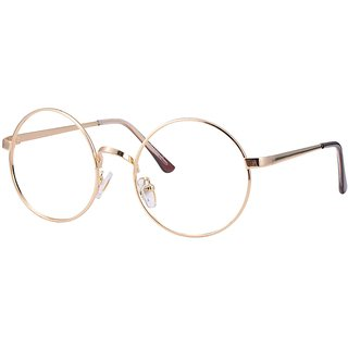 Buy Comfortsight Golden Metal Eye Glass Frame For Unisex Cs8816