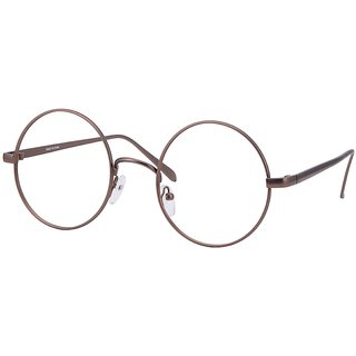 Buy Comfortsight Bronze Metal Eye Glass Frame For Unisex Cs8817