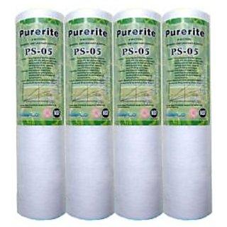 RO Water Purifier Kemflow Spun Pre-Filter Candle 10 Cartridge Pack of 4 Pcs