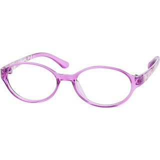 Buy Comfortsight Purple Polycarbonate Eye Glass Frame For Kids