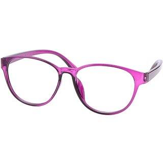 Buy Comfortsight Purple Polycarbonate Eye Glass Frame For Women