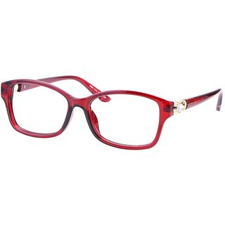 Buy Comfortsight Red Polycarbonate Eye Glass Frame For Women Cs9169