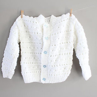 Handmade Sweater White With Latest Design