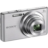 Sony Cyber-shot DSC-W830/BC E32 Point  Shoot Camera(Silver)