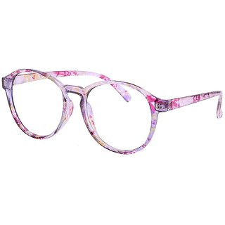 Buy Comfortsight Pink Polycarbonate Eye Glass Frame For Women Cs8170