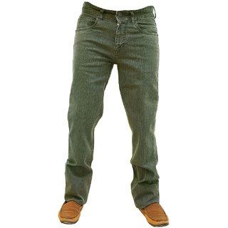 Wabba Men's Regular Fit Cream Jeans