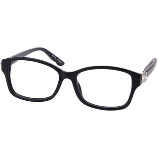 Buy Comfortsight Matte Black Polycarbonate Eye Glass Frame For