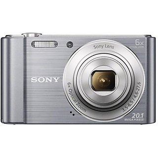Sony CyberShot DSC W810 Point Shoot Camera Silver