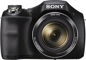 Sony DSC-H300 Point & Shoot Camera(Black)