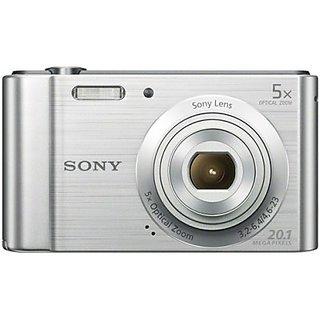Sony Cyber-shot DSC-W800 Point & Shoot Camera (Silver)