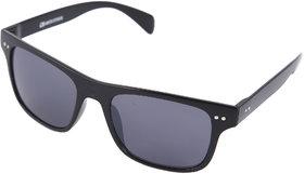 Gansta Gn-11074 Full Black Wrap Around Wayfarer Sunglasses