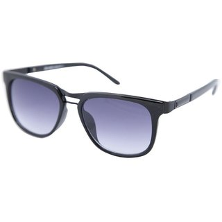 9468075aeec9f Buy Gansta Gn1026 Ladies Black Over Size Wayfarer Sunglasses With Gradient  Lenses Online   ₹599 from ShopClues