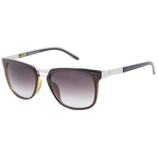 d36482eb2aba0 Gansta Gn1026 Ladies Brown Over Size Wayfarer Sunglasses With Gradient  Lenses