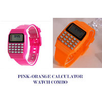 Stylish Calculator Shopclues Watch For Kids Cute Colour And Design Combo Of Two