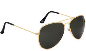 Royal Son Classic Black Aviator Sunglasses- RS0019AV