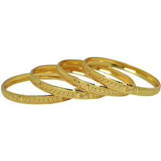 Czar Fashionable  Gorgeous Bangle Set -BANGLE6650.2.4