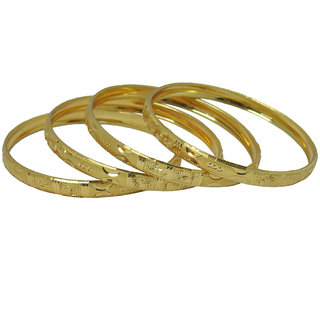 Czar Fashionable  Gorgeous Bangle Set -BANGLE6654.2.4
