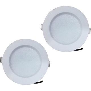 Bene LED 7w Round Ceiling Light, Color of LED White (Pack of 2 Pcs)