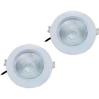 Bene LED 9w Round Ceiling Light, Color of LED Warm White (Yellow) (Pack of 2 Pcs)