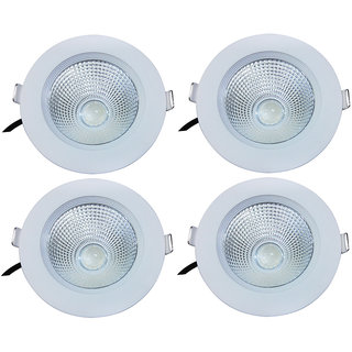 Bene LED 9w Round Ceiling Light, Color of LED Warm White (Yellow)  (Pack of 4 Pcs)