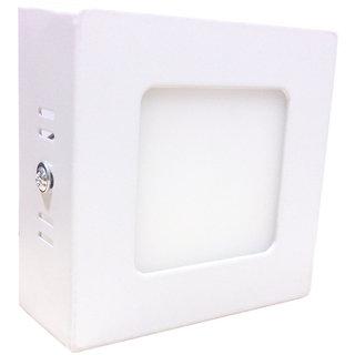 Bene LED 3w Square Surface Panel Ceiling Light, Color of LED White