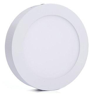 Bene LED 12w Round Surface Panel Ceiling Light, Color of LED White