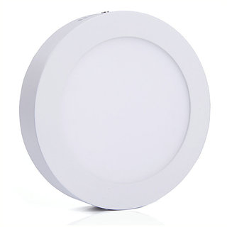 Bene LED 6w Round Surface Panel Ceiling Light, Color of LED White