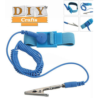 DIYcrafts..ESD Adjustable Wrist Strap Band Grounding Hot Anti Static Antistatic