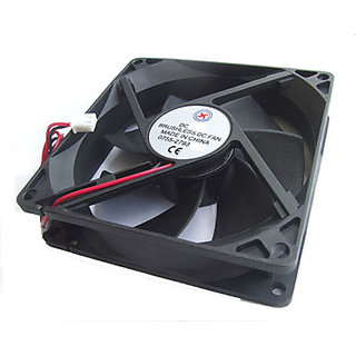 1x PC Descktop 12V DC Fans 90mm x 90mm x 25mm 2 wire Brushless Cooling Fan 1XS