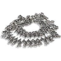 Silverwala Silver Anklet (Pack Of 2) (OXA88)