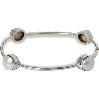 Silverwala Silver Bangle (KAPLSL000000078)