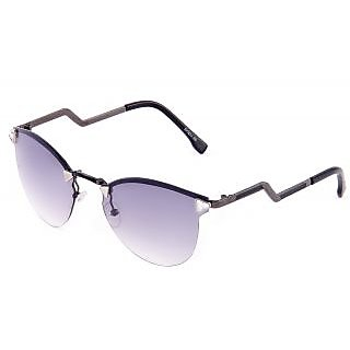 Di Tutti Sightly Purple Round Women Mirrored Sunglass