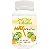 Garcinia Cambogia Max 85 HCA Extract 800mg Veggie 90 Capsules, Slim 100 Natural
