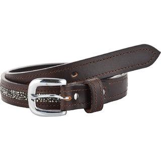 STERLING GERMANY Women Brown Studded Belt