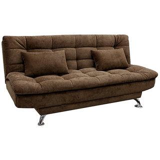 Elite Sofa Cum Bed ( Premium Brown)
