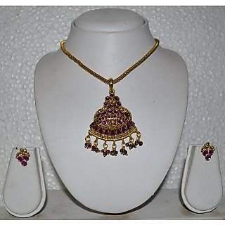 Artificial Neckles Set With Earring For Women