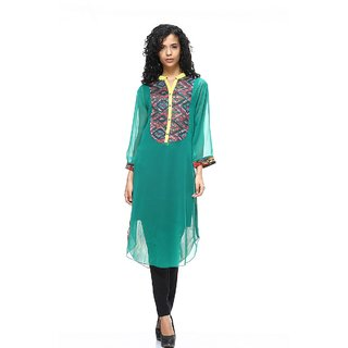 Hang N Hold  womens smart Long kurti