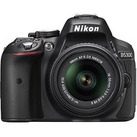 Nikon D5300 DSLR Camera with AF-P DX NIKKOR 18-55 mm f/3.5-5.6G VR Kit