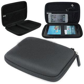 Portable Hard Disk Protective Hard Cushion Cover / Pouch - Black Harddiscpauchblk-19
