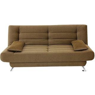 Elite Sofa Cum Bed  (Henna)