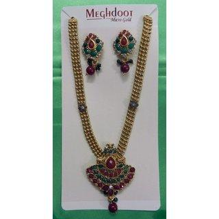 Fashion Necklace Earrings set Designer Wedding Party Wear Ethnic Jewellery Set