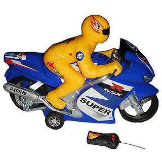 Battery Operated Remote Control Bike For Kids